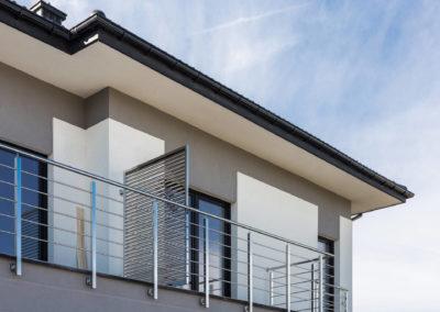 Balkon w segmencie narożnym Home Premium przy ul. Jutrzenki.